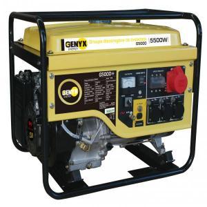 Groupe électrogène essence de chantier G5000 SWAP-europe.com