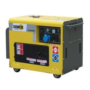 Diesel generator G5000DM-2 SWAP-europe.com