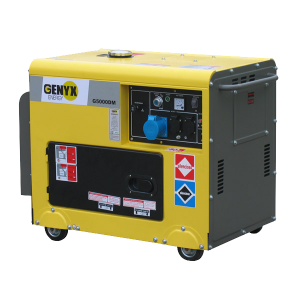 Diesel generator 4500 W 5000 W - Single-phase G5000DM-3 SWAP-europe.com