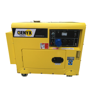 Diesel generator 4500 W 5000 W - Single-phase G5000DM-A SWAP-europe.com