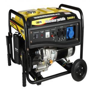 Open frame petrol generator G6000R-2 SWAP-europe.com