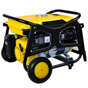 Open frame petrol generator 2200 W 2000 W - AVR system - Inflatable transport wheels GPRO2200-1 SWAP-europe.com