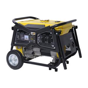 Groupe électrogène essence de chantier 4300 W 4000 W GPRO4000R-A SWAP-europe.com