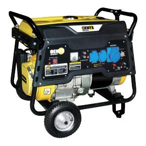 Open frame petrol generator 7000 W 6500 W GPRO7500E SWAP-europe.com