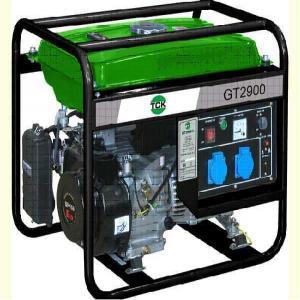 Open frame petrol generator GT2900 SWAP-europe.com