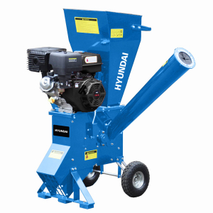Petrol plant shredder 420 cm³ 9 cm - 4-stroke engine HBT420 SWAP-europe.com