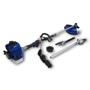 Petrol multi-tool 25.4 cm³ - 4 in 1 - Double-crankshaft engine HCOMBI25 SWAP-europe.com