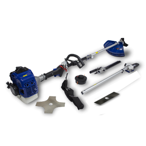 Petrol multi-tool 33 cm³ - 4 in 1 - Double-crankshaft engine - Harness HCOMBI30-A SWAP-europe.com