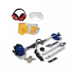 Petrol multi-tool 33 cm³ - 4 in 1 - Double-crankshaft engine - Harness HCOMBI30-AC SWAP-europe.com