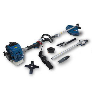 Petrol multi-tool 33 cm³ - 4 in 1 - Double-crankshaft engine - Harness HCOMBI336F-A SWAP-europe.com