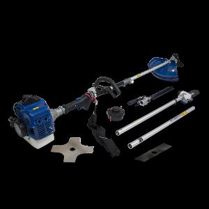 Petrol multi-tool 33 cm³ - 4 in 1 - Double-crankshaft engine - Harness HCOMBI336F-A SWAP-europe.com
