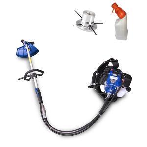 Petrol brushcutter 50 cm³ 1.7 hp HDBTD50-ALU SWAP-europe.com