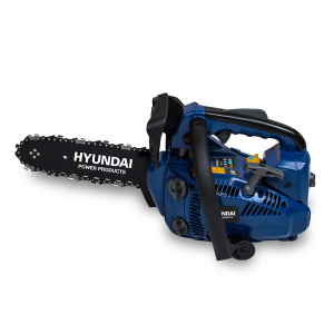 Petrol pruner 25.4 cm³ 25 cm - Guide and chain HYUNDAI - Second free channel HEL30-3-2 SWAP-europe.com