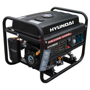 Open frame petrol generator 2200 W 2000 W HG2200 SWAP-europe.com