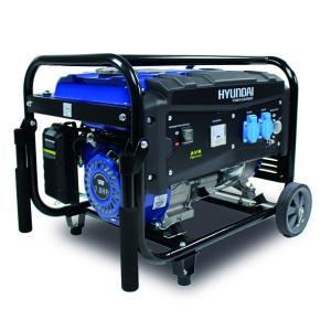 Groupe électrogène essence de chantier 2700 W 2500 W - Système AVR HG2700 SWAP-europe.com