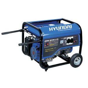 Open frame petrol generator 4500 W 4000 W - AVR system HG4000R SWAP-europe.com