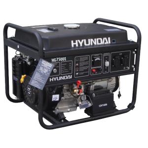 Open frame petrol generator 6500 W 6000 W HG7500E SWAP-europe.com