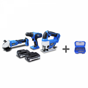 Pack d'outils 1.5 Ah 3-5 h HNHPACK18V-AC SWAP-europe.com