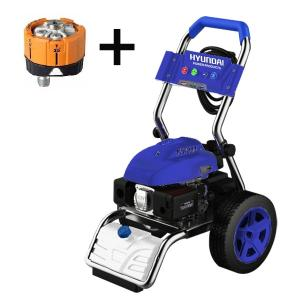 Petrol high pressure washer 7 hp 220 bar 545 L/h HNHPT215B SWAP-europe.com