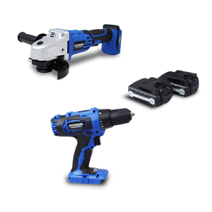 Cordless drill  18 V - Number of batteries 2 HPACK18V2A SWAP-europe.com