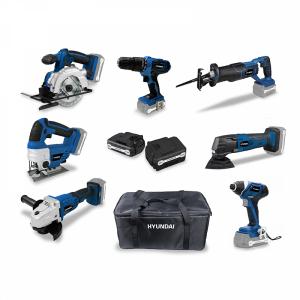 Pack d'outils 20 V 2 & 4 Ah HPACK20V7-2 SWAP-europe.com