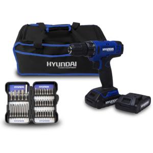 Cordless drill  18 V 33 Nm HPVD185-37A SWAP-europe.com