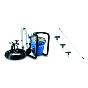 Airless paint sprayer 750 W 1100 ml/min HSP650-AC SWAP-europe.com