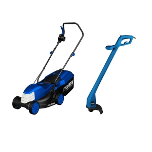 Electric lawn mower 1200 W 32 cm 25 L + 250 W Grass Trimmer HTDE1225 SWAP-europe.com