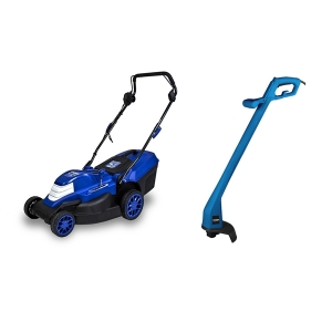 Electric lawn mower 1800 W 42 cm 45 L + Grass Trimmer 250 W HTDE1825 SWAP-europe.com