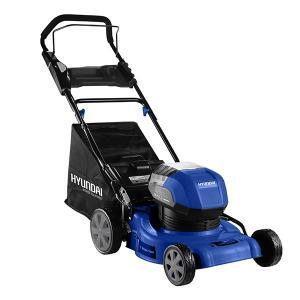 Cordless lawn mower 40 V 4 Ah 40 cm 50 L HTDEC40V-4A2B SWAP-europe.com