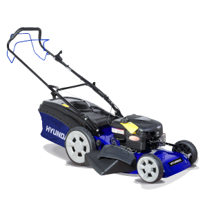 Petrol lawn mower 190 cm³ 51 cm HTDT514FBS SWAP-europe.com