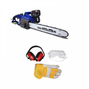 Petrol chainsaw 40 cm³ 40 cm - Guide and chain Hyundai - recoil start  HTR4-AC SWAP-europe.com