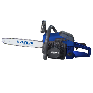 Petrol chainsaw 52 cm³ 50 cm - Guide and chain Hyundai 0.325 HTR55 SWAP-europe.com
