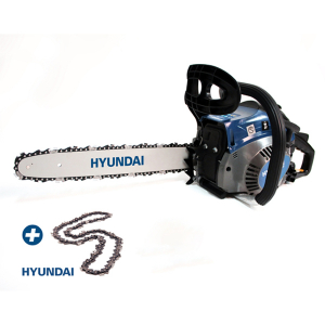 Petrol chainsaw 41 cm³ 40 cm - Guide and chain HYUNDAI - recoil start  HTRT4140-2AC SWAP-europe.com
