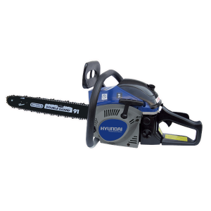 Petrol chainsaw 46 cm³ 45 cm - Guide and chain OREGON - recoil start  HTRT45-6 SWAP-europe.com
