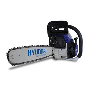 Petrol chainsaw 53 cm³ 50 cm - Guide and chain Hyundai 0.325 HTRT5352C SWAP-europe.com