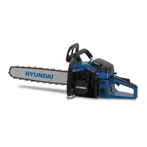 Petrol chainsaw 53 cm³ 50 cm - Guide and chain Hyundai - recoil start  HTRTPRO5350-4-1 SWAP-europe.com