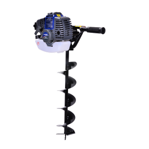 Petrol earth auger 52 cm³ 150 mm - 2-stroke motor HTT49 SWAP-europe.com