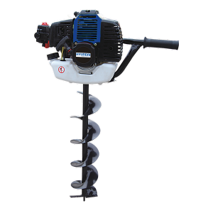 Petrol earth auger 52 cm³ 150 mm - 2-stroke motor - Automatic shut-off system HTT50-A SWAP-europe.com