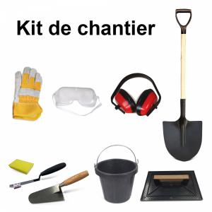 Kit de chantier complet 9 accessoires.  20304027 Spare part SWAP-europe.com
