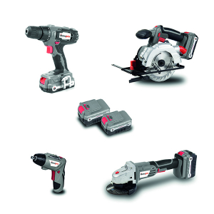 Cordless drill  18 V 40 Nm - Number of batteries 2 MPRPCKPOEP18 SWAP-europe.com