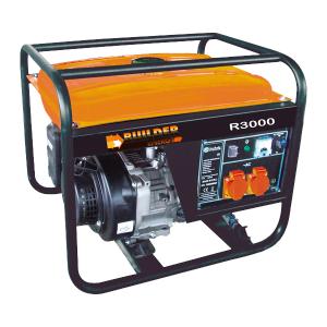 Open frame petrol generator R3000 SWAP-europe.com