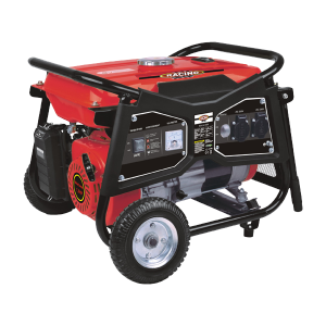 Open frame petrol generator 3000 W 2700 W - Inflatable transport wheels RAC3100R SWAP-europe.com