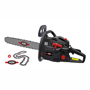 Petrol chainsaw 46 cm³ 40 cm - Guide and chain Racing - recoil start  RAC45402C SWAP-europe.com