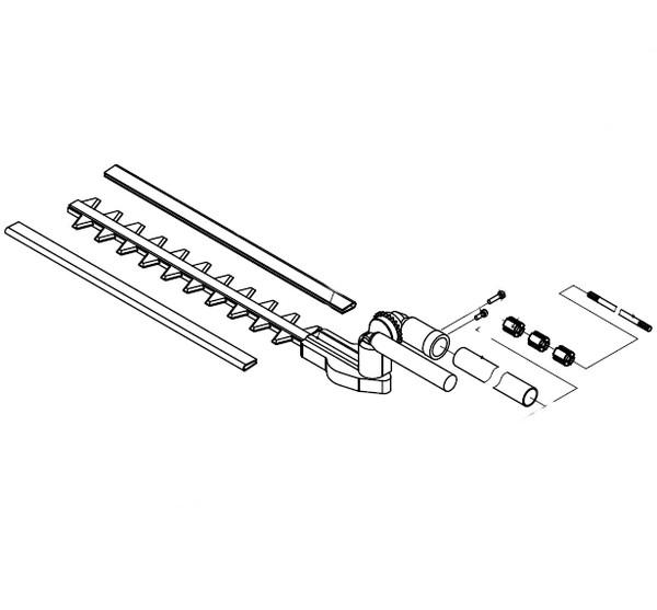 Accessoire taille-haie complet 16363000 Spare part SWAP-europe.com